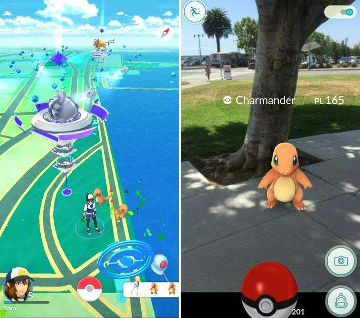 The world of Pokemon heads outdoors, as you