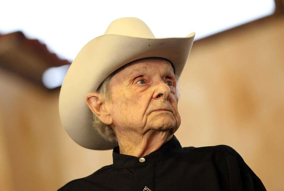 Ralph Stanley, seen on April 28, 2012, was