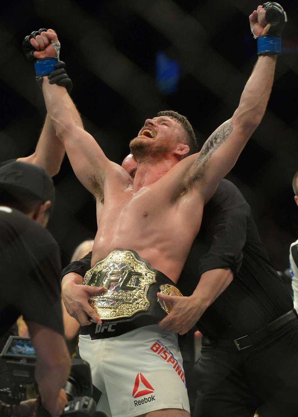 A veteran of the fight game, Michael Bisping