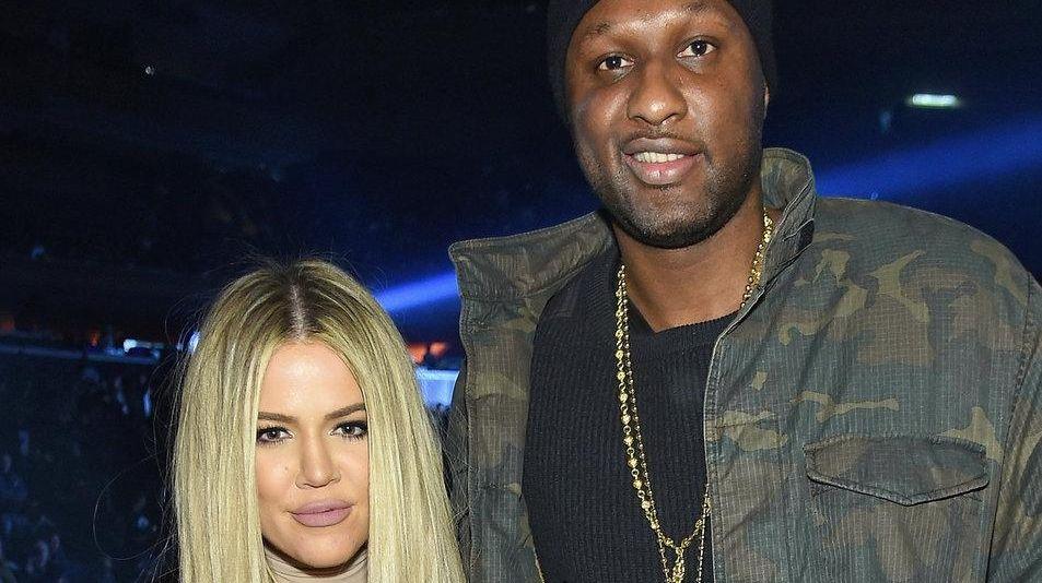 Khloe Kardashian and Lamar Odom attend Kanye West
