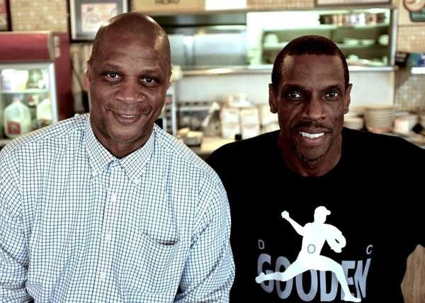 Darryl Strawberry and Doc Gooden in