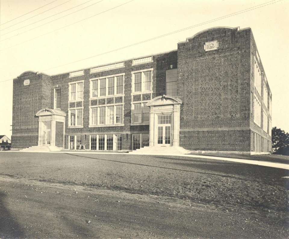 The South Huntington Station School used to be