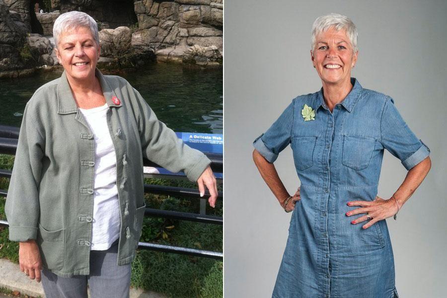 Susan Ledlie, 60, of Rockville Centre, is pictured