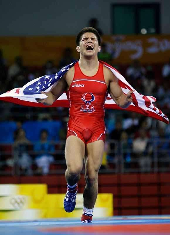 Cejudo won gold at the Beijing Olympics in