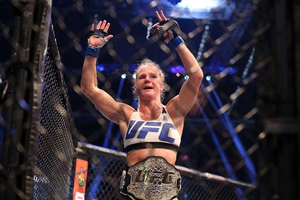 At UFC 193 in Australia on Nov. 14,