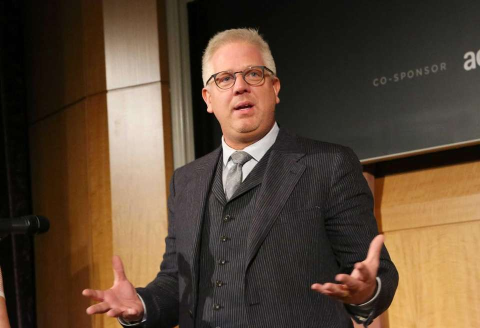 Conservative political commentator and television host Glenn Beck