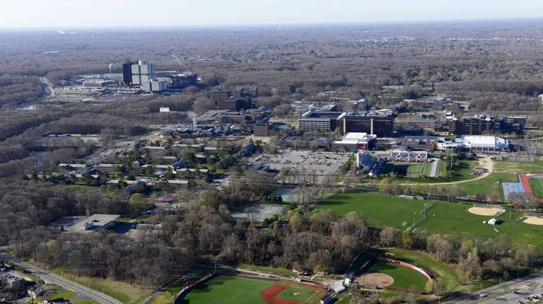 In 1962, Stony Brook University's campus was built