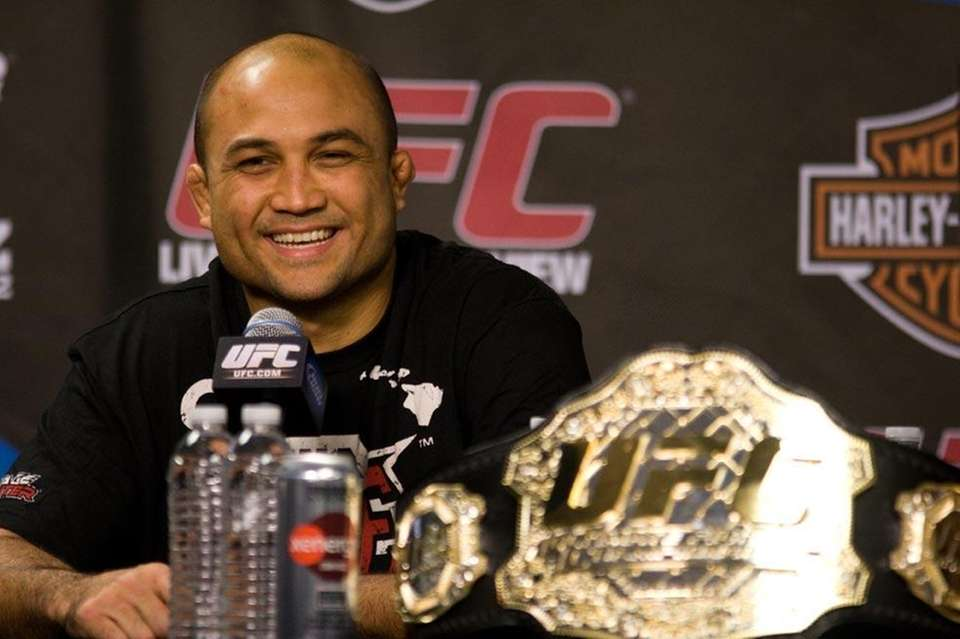 Successful title defenses: 0 B.J. Penn ended Hughes'
