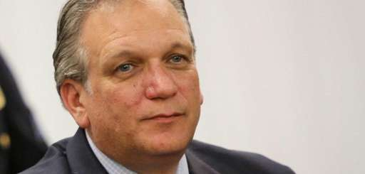 Nassau County Executive Ed Mangano is seen during