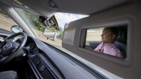 Kaushik Raghu, Senior Staff Engineer at Audi, demonstrates