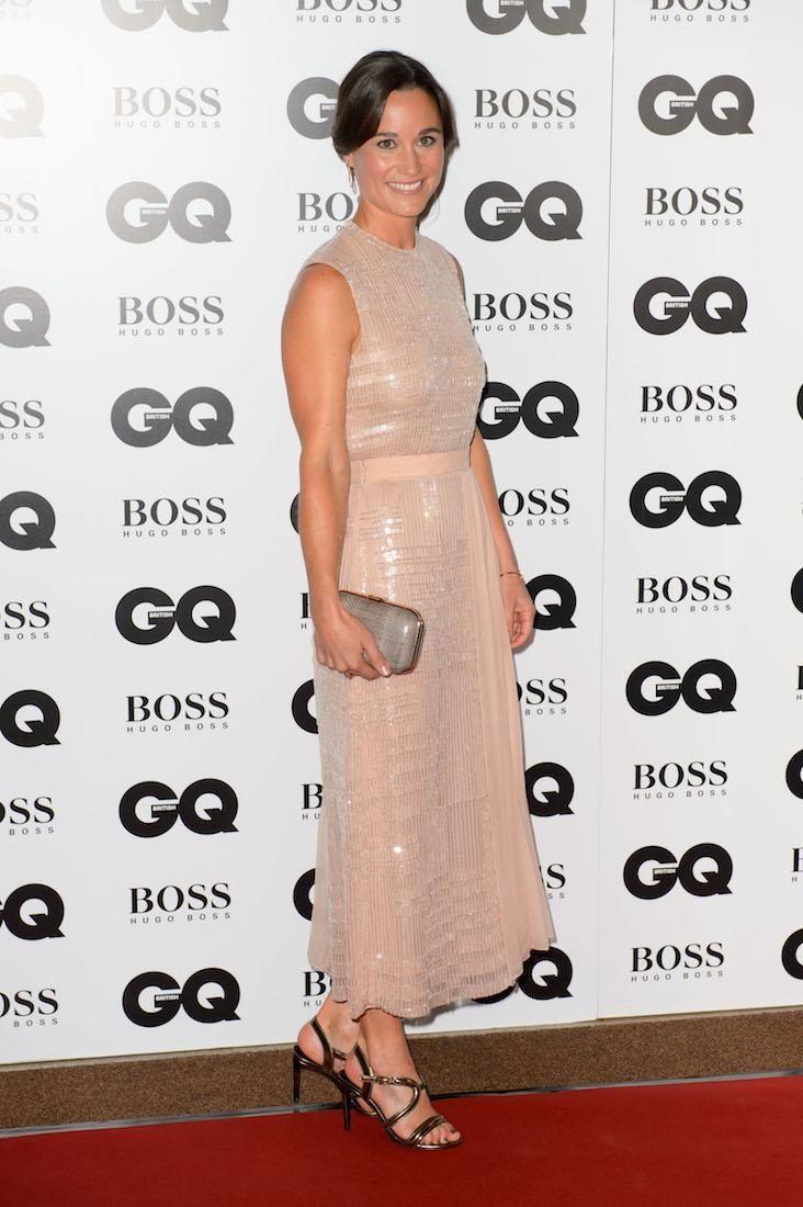 Pippa Middleton arrives for the GQ Men of