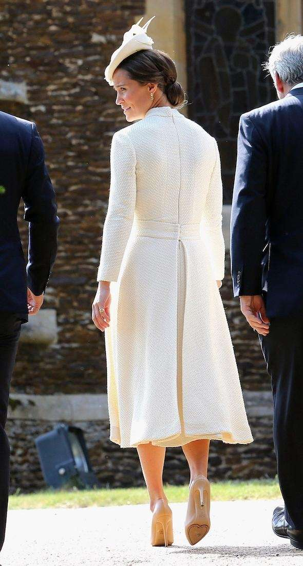 Pippa Middleton arrives at the Church of St.