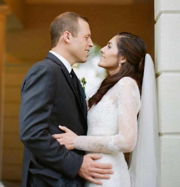 Tatum Mason marrying Andrew Latsko @ St Johns