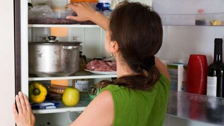 Organizing your cluttered refrigerator will help you save