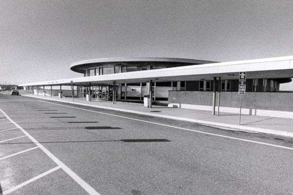 Overall view of the main terminal at Long