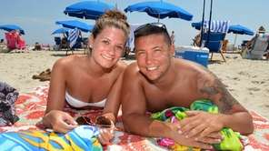 Marisa Iannacito, 22, and Tyler Carrozzo, 23, of
