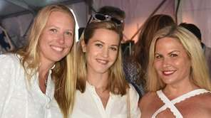 Karen Bronster, Meredith Murphy and Tara Halper attend