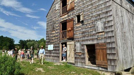 The Van Wyck Lefferts tidal grist mill in