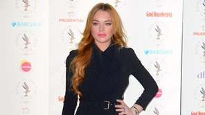 Lindsay Lohan arrives for the Women of the