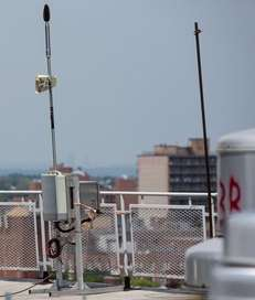 A device that detects and gathers noise level