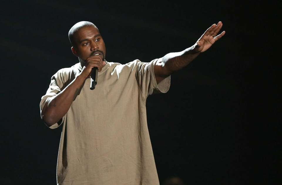 Kanye West stormed yet another award stage in