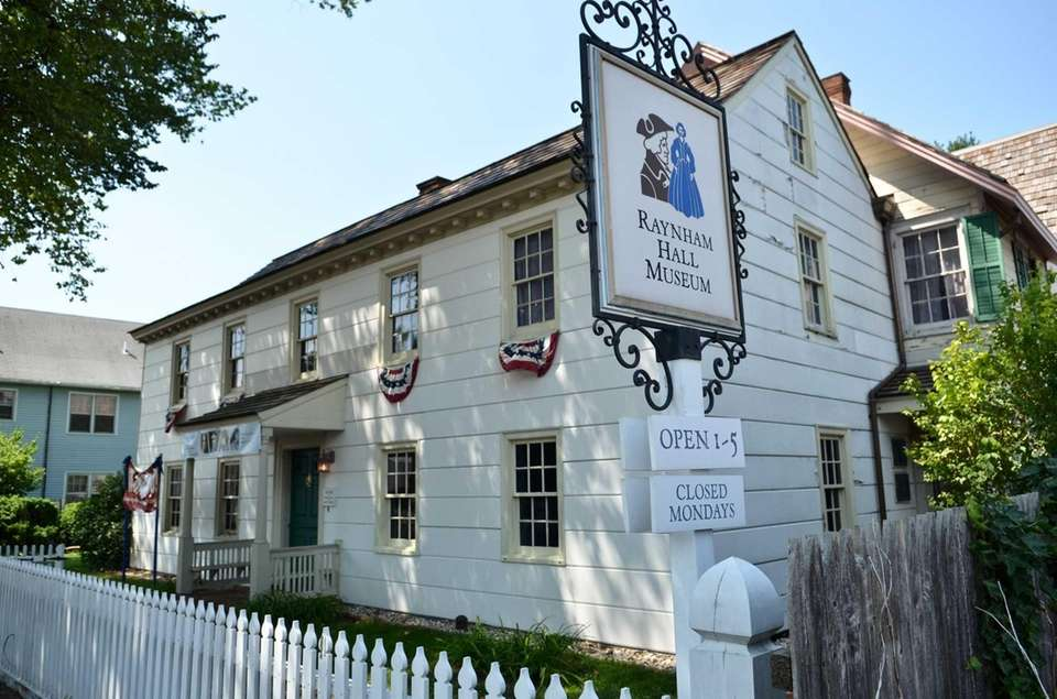 Raynham Hall Museum in Oyster Bay was originally