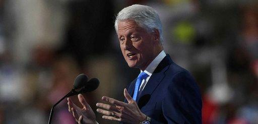 Former President Bill Clinton spaeks on Day 2