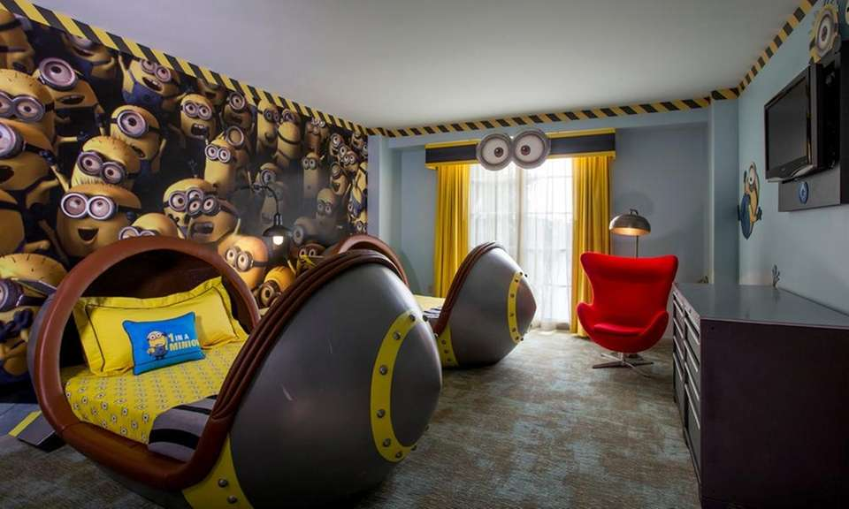 Themed Hotel Rooms In Disney World