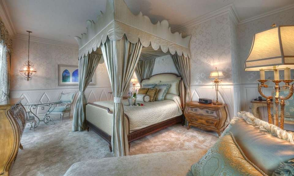 This fairy-dusted suite at the Disneyland Hotel in