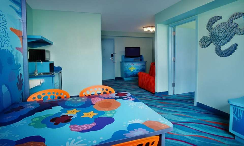 Starting at $301 per night, the Finding Nemo