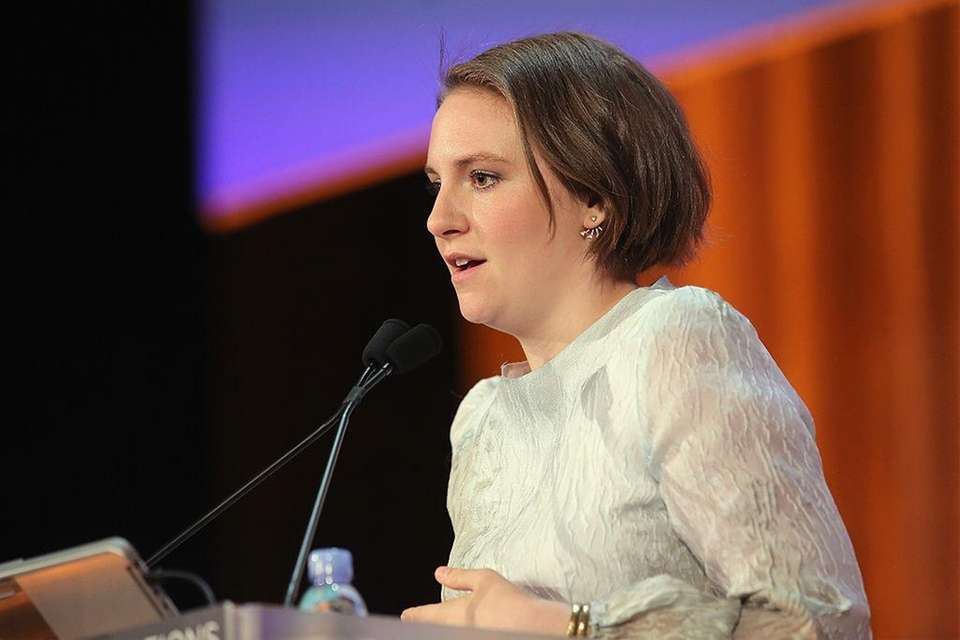 Actress Lena Dunham has campaigned in support of