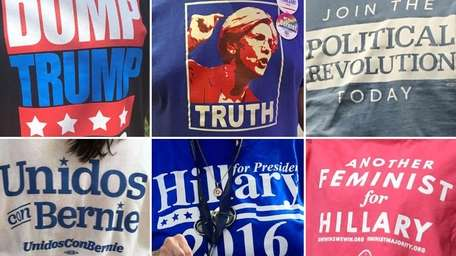 Many Democratic National Convention attendees and protesters share