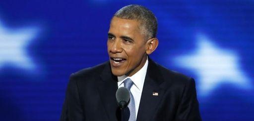 President Barack Obama speaks during the third day