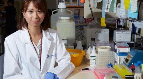 Dr. Iok In Christine Chio, a postdoctoral researcher,