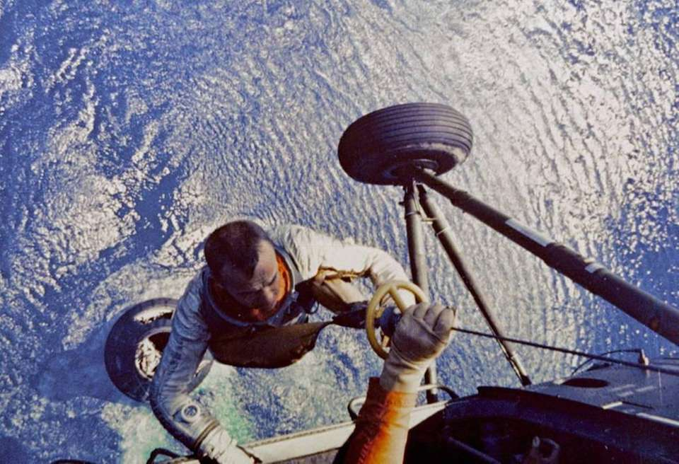 Alan Shepard was the first man to go