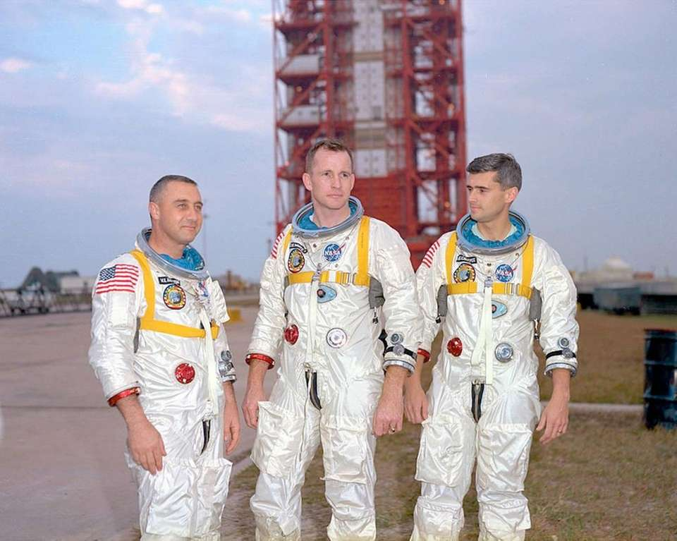 NASA suffered a tragedy on Jan. 27, 1967,