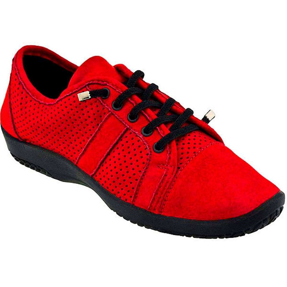 NAME Arcopedico Leta travel shoe COST $120, info