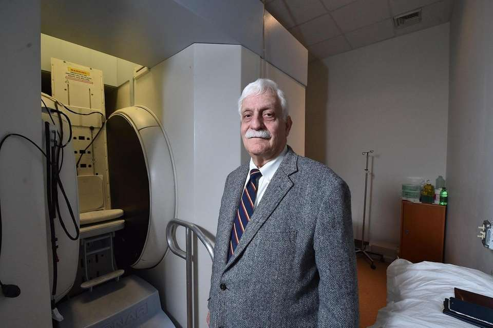 Physician and inventor Raymond Damadian, pictured in his