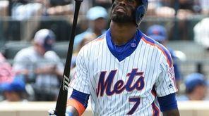 New York Mets third baseman Jose Reyes returns
