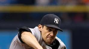 Nathan Eovaldi of the New York Yankees