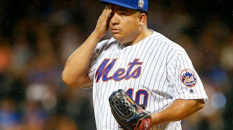 Bartolo Colon went five innings and gave up
