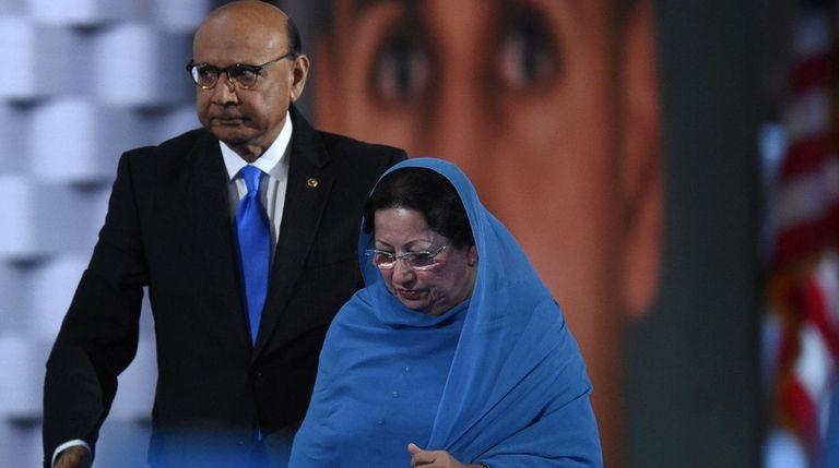 Khizr and Humayun Khan, parents of Humayun S.