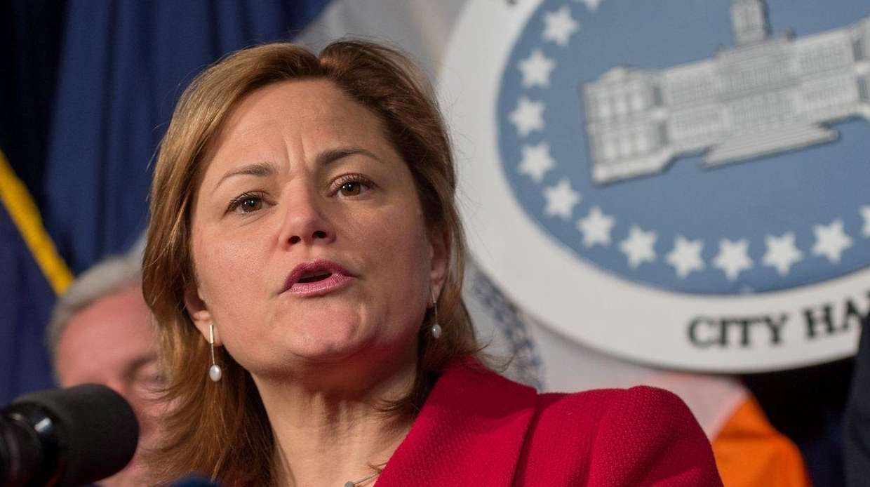 New York City Council Speaker Melissa Mark-Viverito speaks
