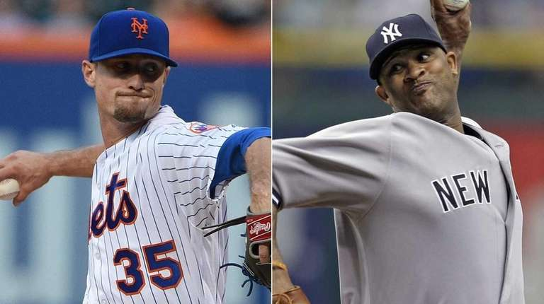 Logan Verrett, left, will start for the Mets