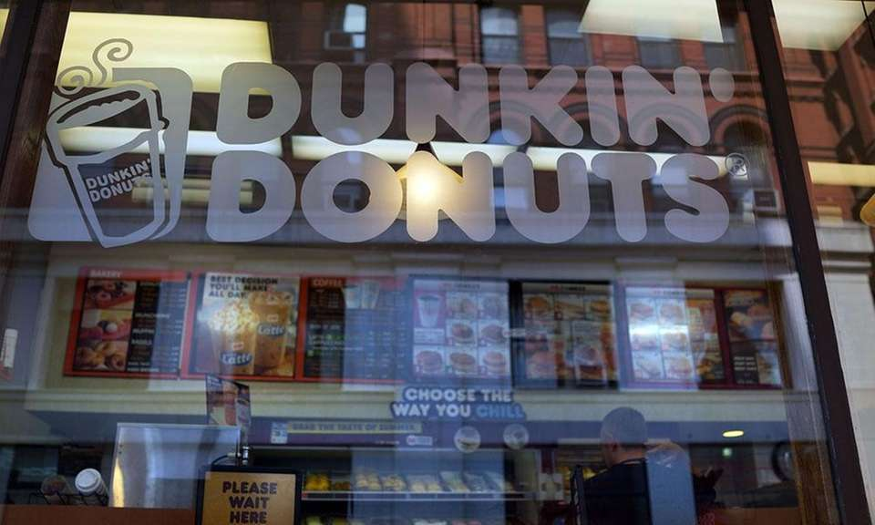 According to the National Retail Federation, Dunkin' Brands