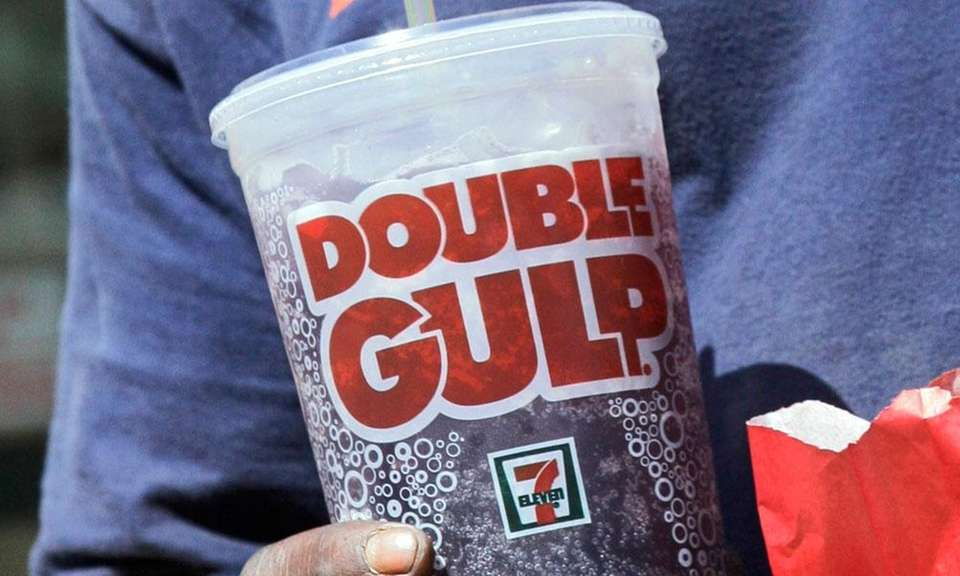 7-Eleven introduced the 32-ounce Big Gulp in 1976,