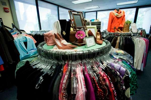 The Dress for Success boutique at Brookhaven Town