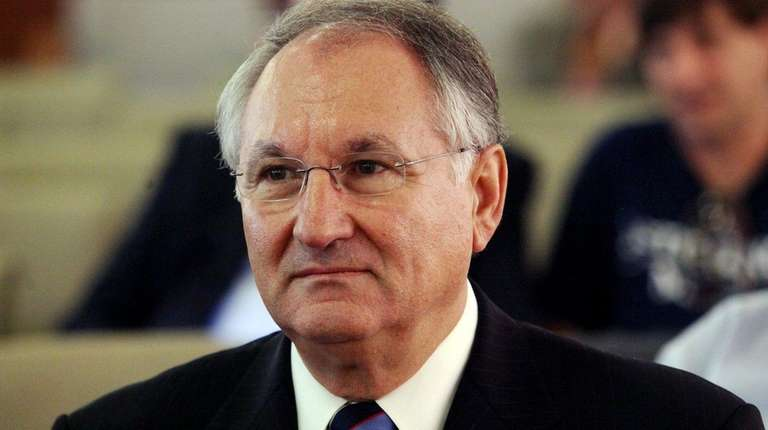 Nassau County Comptroller George Maragos testifies about the