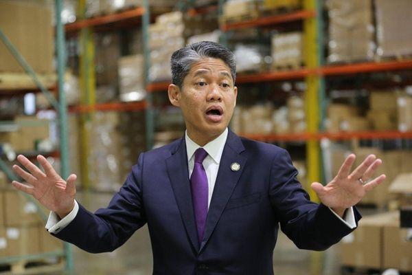 New York Power Authority president Gil C. Quiniones