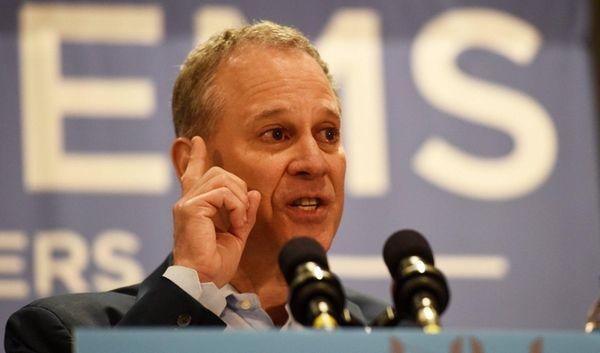 Eric Schneiderman, New York Attorney General, speaks at